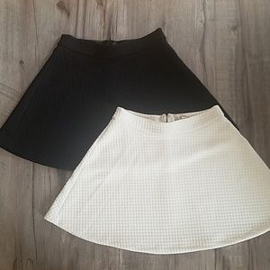 Banana Republic quilted skirts